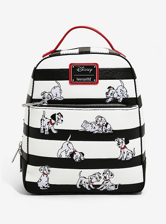 Buy Loungefly Disney 101 Dalmatians Striped Mini Backpack on PriceBreaks.com