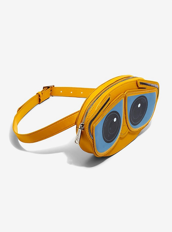 Buy Loungefly Disney Pixar WALL-E Eyes Fanny Pack – BoxLunch Exclusive on PriceBreaks.com