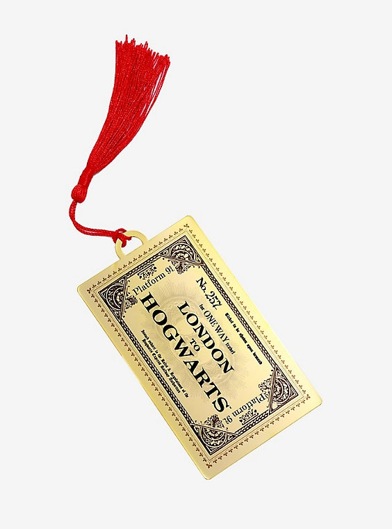 Buy Harry Potter Hogwarts Train Ticket Bookmark – BoxLunch Exclusive on PriceBreaks.com